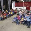 Representantes das escolas de samba aguardaram o resultado e comemoraram na Sala Jundiaí do Complexo Fepasa