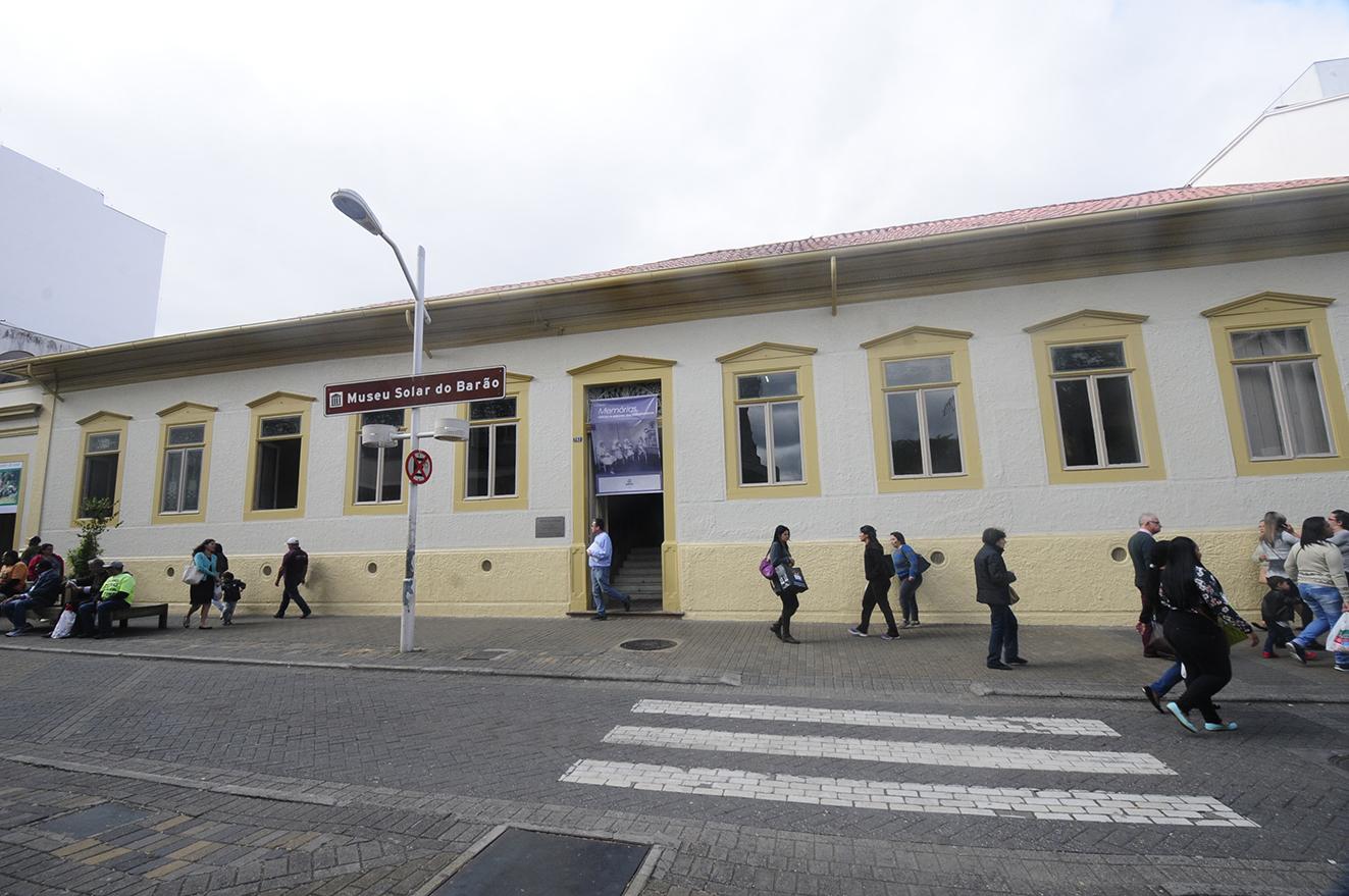 Fachada do Museu Histórico e Cultural de Jundiaí Solar do Barão